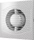 Вентилятор вытяжной ERA D 125 / Slim 5C (белый карбон) -