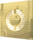 Вентилятор вытяжной ERA D 100 / Slim 4C (золото) -