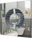 Вентилятор вытяжной ERA D 100 / Slim 4C (хром) -