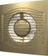 Вентилятор вытяжной ERA D 100 / Slim 4C (шампань) -