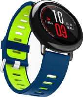 Ремешок для умных часов Miru DSJ-05 4078 (силиконовый, синий/зеленый) -