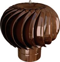 Турбодефлектор вентиляционный ERA ТД-125-8017 (коричневый) -