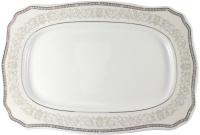 Блюдо Cmielow i Chodziez Romantika / B152-0R12P00 (серый орнамент) -