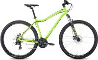 Велосипед Forward Sporting 29 2.2 Disc 2021 / RBKW1M19G005 (19, ярко-зеленый/черный) -
