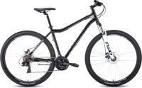 Велосипед Forward Sporting 29 2.2 Disc 2021 / RBKW1M19G022 (черный/белый) -