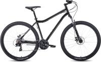 Велосипед Forward Sporting 29 2.2 Disc 2021 / RBKW1M19G007 (21, черный/темно-серый) -