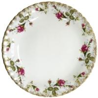 Тарелка столовая мелкая Cmielow i Chodziez Iwona / B013-0I01010 (шиповник) -