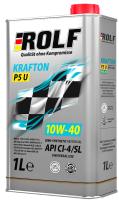 Моторное масло Rolf Krafton P5 U 10W40 / 322581 (4л) -