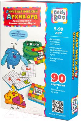 Развивающие карточки Kribly Boo Лингвистический Архикард / 63729