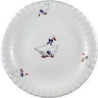 Тарелка столовая мелкая Cmielow i Chodziez Iwona / E280-0I01010 (гусь) -