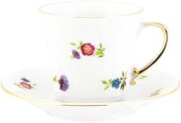Чашка с блюдцем Cmielow i Chodziez Kamelia / B443-8202K00 -