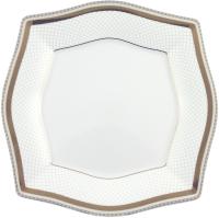 Тарелка столовая мелкая Cmielow i Chodziez Lwow / E400-0631390 (нель) -