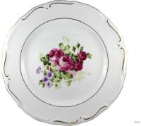 Тарелка столовая мелкая Cmielow i Chodziez Maria Tereza / G255-0M31390 (роза садовая) -