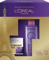 Набор косметики для лица L'Oreal Paris Dermo Expertise Крем Возраст Эксперт 55++Миц вода для сухой кожи (50мл+200мл) -