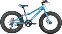 Детский велосипед Black One Monster 20 D 2021 (синий/серебристый) -