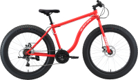 Велосипед Black One Monster 26 D 2021 (20, красный/белый) -