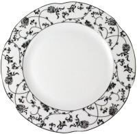 Тарелка столовая мелкая Cmielow i Chodziez Bolero Indi / G298-0731390 (платина) -