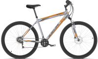 Велосипед Black One Onix 26 D 2021 (18, серый/оранжевый) -