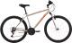 Велосипед Black One Onix 26 2021 (18, серебристый/оранжевый) -