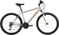Велосипед Black One Onix 26 2021 (20, серебристый/оранжевый) -