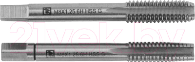 Набор метчиков Thorvik T-Combo MT1215S2