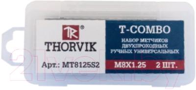 Набор метчиков Thorvik T-Combo MT81S2