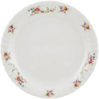 Тарелка столовая мелкая Cmielow i Chodziez Iwona / G742-0I01290 (праздничный букет) -