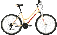 Велосипед Bravo Tango 26 2021 (16, кремовый/бордовый/серый) -