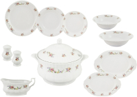 Набор столовой посуды Cmielow i Chodziez Iwona / G742-2044I0B (44пр, праздничный букет) -