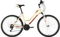 Велосипед Bravo Tango 26 2021 (18, кремовый/бордовый/серый) -