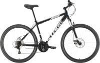 Велосипед STARK Tank 27.1 D Steel 2021 (20, черный/серый) -