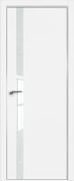 Дверь межкомнатная скрытая ProfilDoors 6E Eclipse 190 60х200 (аляска/белый лак/кромка матовая с 4х сторон) -