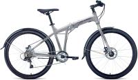 Велосипед Forward Tracer 26 2.0 Disc 2021 / 1BKW1C467003 (19, серый/синий) -