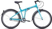 Велосипед Forward Tracer 26 3.0 2021 / 1BKW1C463003 (19, бирюзовый/белый) -