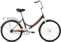 Велосипед Forward Valencia 24 1.0 2021 / RBKW1YF41006 (16, темно-серый/бежевый) -