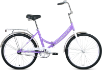 Велосипед Forward Valencia 24 1.0 2021 / RBKW1YF41010 (16, фиолетовый/серый) -