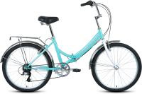 Велосипед Forward Valencia 24 2.0 2021 / RBKW1C246002 (16, мятный/серый) -