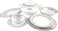 Набор столовой посуды Cmielow i Chodziez Yvonne Sharim / E072-1023093 (платина) -
