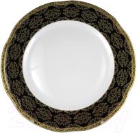 Тарелка столовая глубокая Cmielow i Chodziez Bolero Carmen / G257-0731090 (черный) -