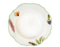 Тарелка столовая глубокая Cmielow i Chodziez Gloria / K232-0G11490 (полевые цветы) -