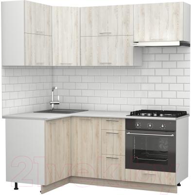 Готовая кухня S-Company Клео крафт 1.2x1.9 левая