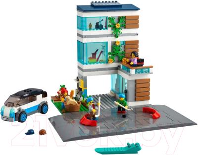 Конструктор Lego City Современный дом для семьи / 60291