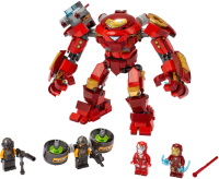Конструктор Lego Super Heroes Халкбастер против агента А.И.М. / 76164 -