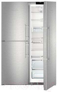 Холодильник с морозильником Liebherr SBSes 8483