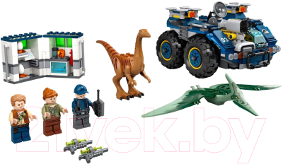 Конструктор Lego Jurassic World Побег галлимима и птеранодона / 75940