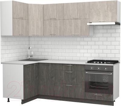 Готовая кухня S-Company Клео крафт 1.2x2.3 левая
