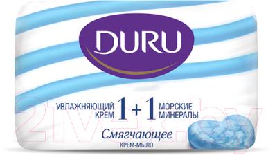 Мыло твердое, 4 шт. Duru Soft Sensations Крем&Морские минералы
