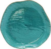 Тарелка столовая мелкая Lubiana Stone Age / LB12-XSRC1ZZ (бирюзовый) -