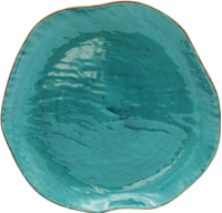 Тарелка столовая мелкая Lubiana Stone Age / LB12-XSRC2ZZ (бирюзовый) -
