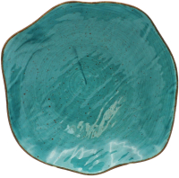 Тарелка столовая глубокая Lubiana Stone Age / LB12-XSRLCZZ (бирюзовый) -